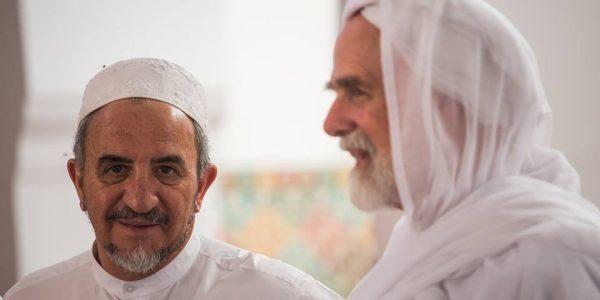 Abdessamad Romero with Dr. Umar Faruq Abd-Allah