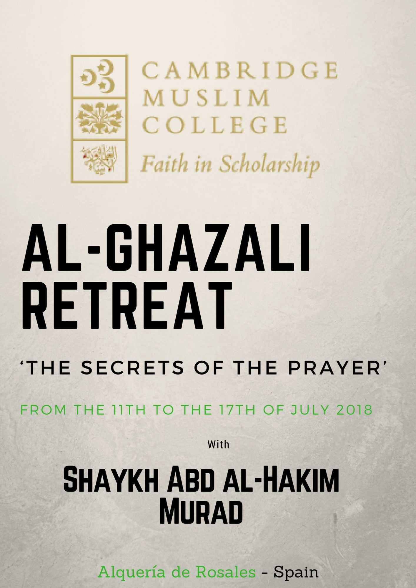 AL-GHAZALI RETREAT