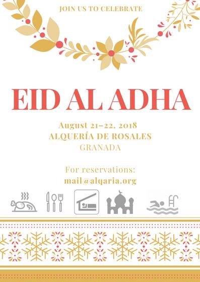 EID AL ADHA - August 21–22, 2018